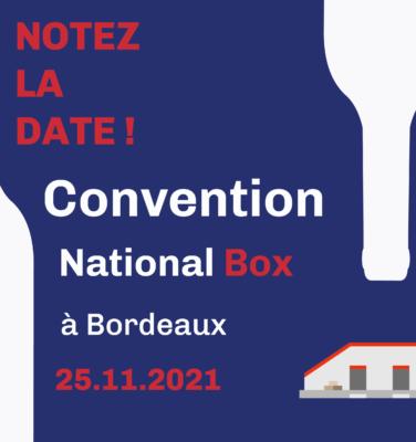 convention national box jeudi 25 novembre 2021